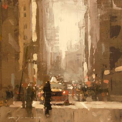 Jeremy Mann, 'Cityscape - Composed Form Study No. 20'