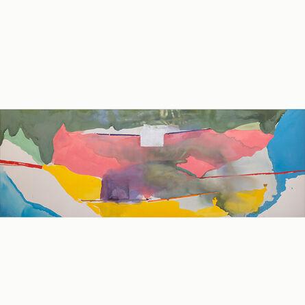 Helen Frankenthaler, 'Off White Square', 1973