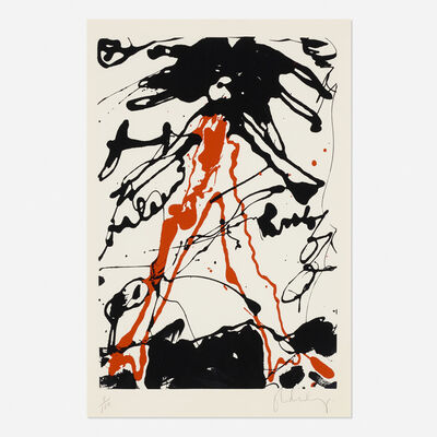 Claes Oldenburg, 'Striding Figure (from Conspiracy: The Artist as Witness portfolio)', 1962