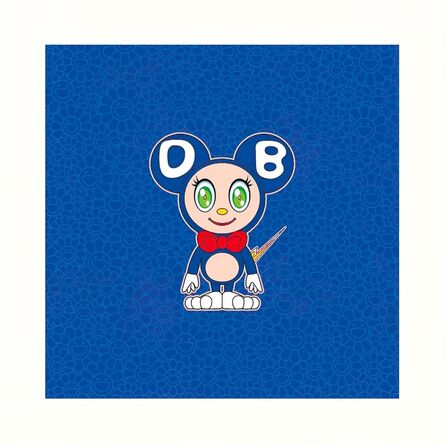 Takashi Murakami, 'DOB 2020 BLUE', 2020