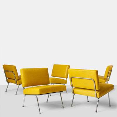 Florence Knoll, 'Set of Five Florence Knoll Chairs Model #31 for Knoll International', ca. 1954