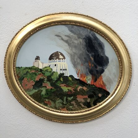 Susan Lizotte, 'Griffith Observatory Wildfire'