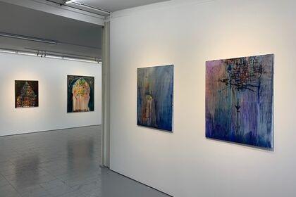 Hausgesichter (with works by Yury Kharchenko)