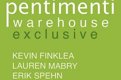 Warehouse Exclusive: KEVIN FINKLEA, LAUREN MABRY, ERIK SPEHN