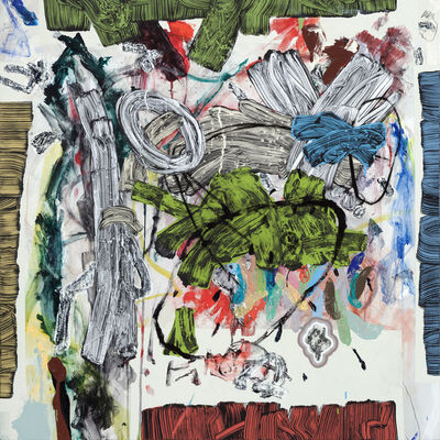Doyle Gertjejansen, 'Reproducing Jesse's Drawing 5 ', 2017