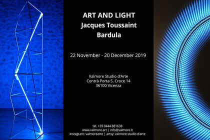 Art and Light | Jacques Toussaint and Bardula