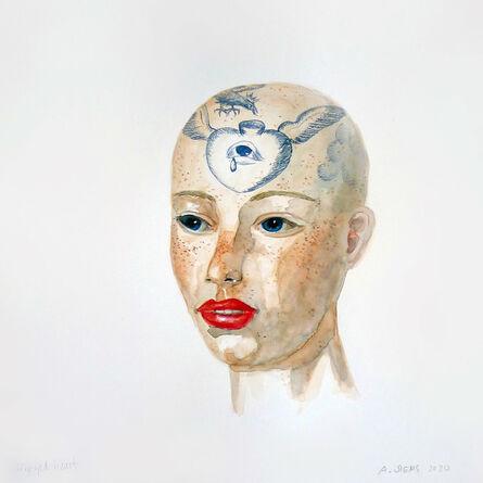 Anne Siems, 'Winged Heart', 2020