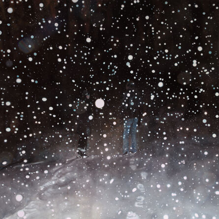 Jennifer Walton, 'Conversation on a Snowy Night', 2016