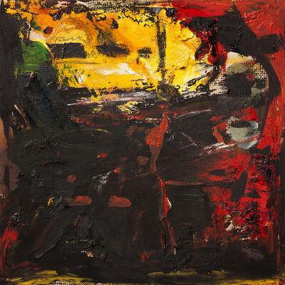 Paresh Maity, 'Untitled (Yellow Skyline)', 1991