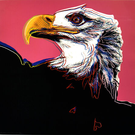 Andy Warhol, 'Bald Eagle from the Endangered Species Series - Unique Trial Proof', 1983