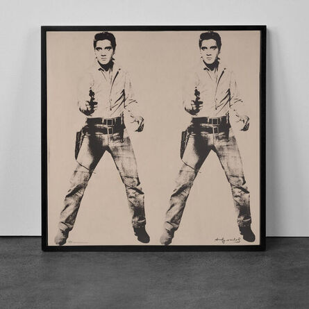 Andy Warhol, 'Platinum Elvis', Published by Rosenthal studio-line in collaboration with The Andy Warhol Foundation