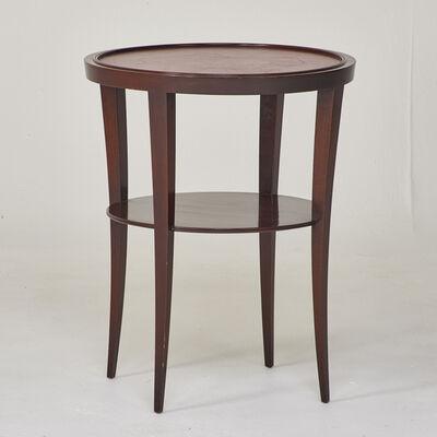 Tommi Parzinger, 'Circular lamp table', ca. 1950s