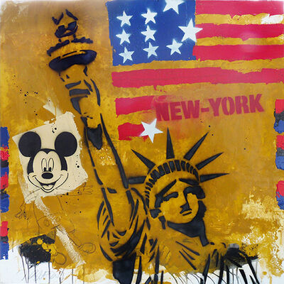 Jacques Blézot, 'New-York, freedom and Mickey', 2016