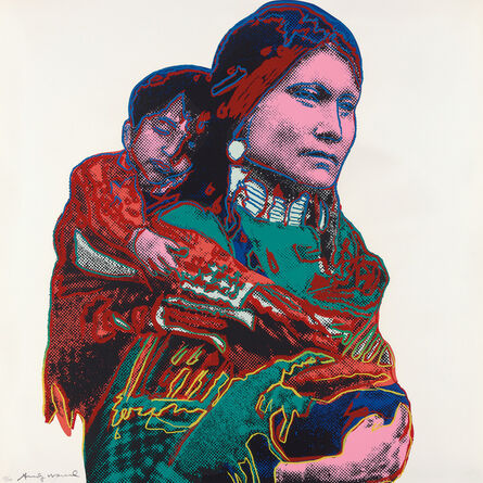 Andy Warhol, 'Mother and Child, from Cowboys and Indians', 1986