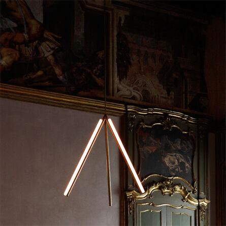 Michael Anastassiades, 'Lit Lines, Pendant Light 1', 2011