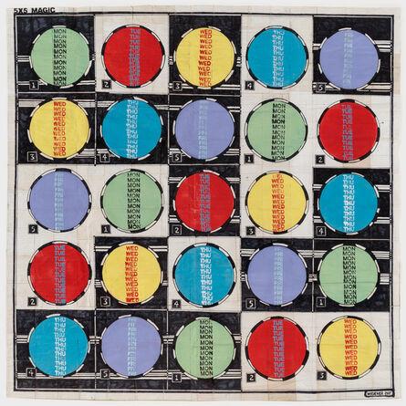 George Widener, 'Magic Circles '