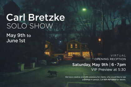 Carl Bretzke Solo Show