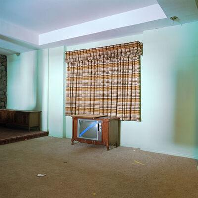 John Divola, '(X21F9) Brady Bunch House, Living Room - Stage 6', 2002