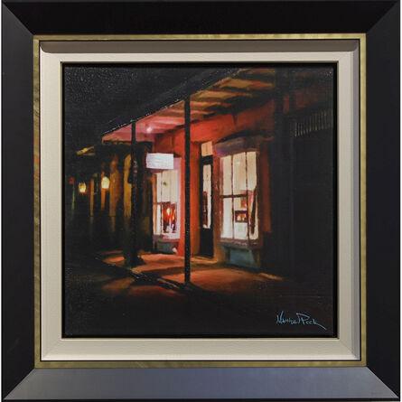 Matthew Peck, 'Matthew Peck Gallery  at Night', 2020