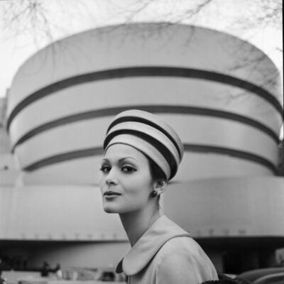 Tony Vaccaro, 'Guggenheim Hat, New York, 1960'