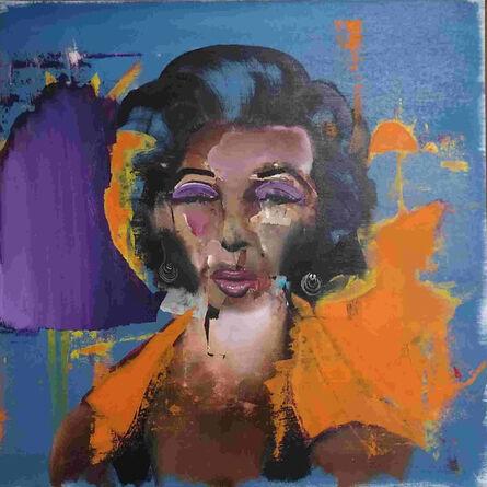 Florian Eymann, 'Marilyn Black and Blue', 2019
