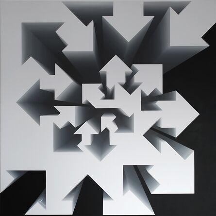 Lakshmi Mohanbabu, 'Fibonacci Nautilus - Black & White', 2017