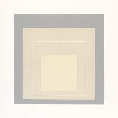 Josef Albers, 'WLS XIV (from White Line Squares)', 1966