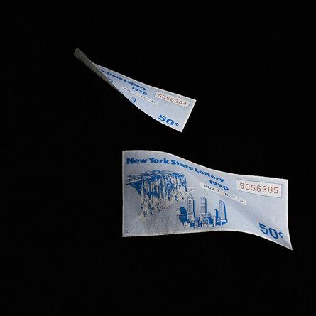 Gabriel Lester, 'Struck Luck Struck (New York State Lottery 1970)', 2015
