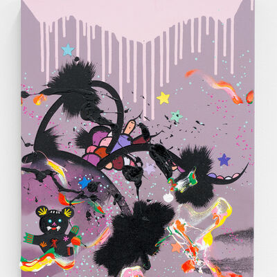 Fiona Rae, 'Party time is coming', 2012