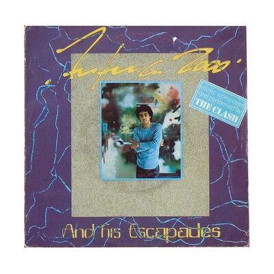 """Futura, 'FUTURA 2000 AND HIS ESCAPADES (7"""" Record)', 1982"""