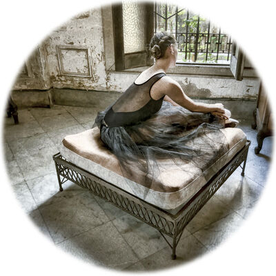 Sandra Carrion, 'Seated Dancer'
