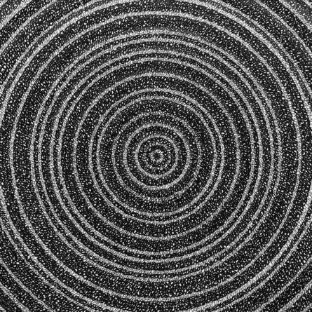 """James Vance, '""""Concentric Ink 6""""', 2019"""
