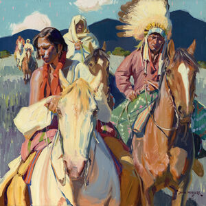 John Moyers, 'Heading to Ranchos', 2020