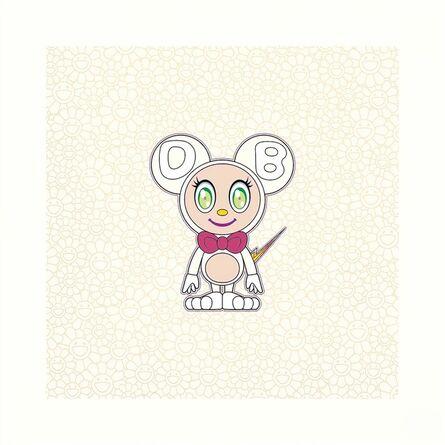 Takashi Murakami, 'DOB 2020 Pearl gold WHITE', 2020