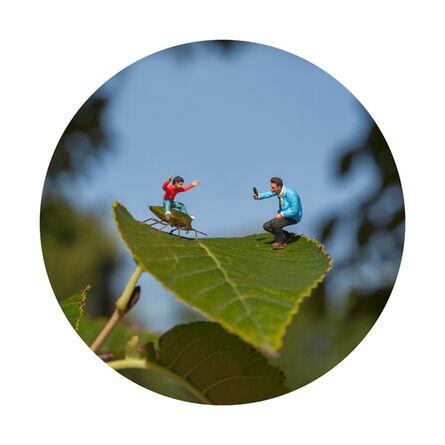 Slinkachu, 'Back to Nature', 2014