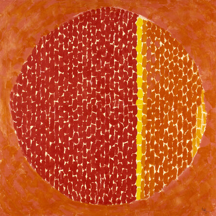 Alma Thomas, 'Snoopy Sees Earth Wrapped in Sunset', 1970