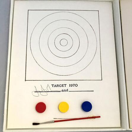 Jasper Johns, 'Jasper Johns Target and Technics (MoMa 1971) ', 1971