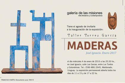 Wooodwork from Taller Torres García (TTG)