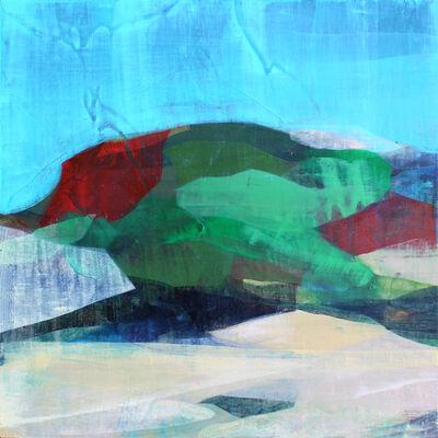 Katherine Sandoz, '(Bermuda Studies) Cliff and Brush', 2017