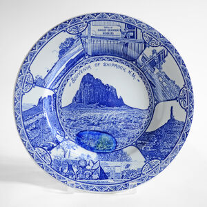 Paul Scott, 'Cumbrian Blue(s), New American Scenery, Shiprock', 2019