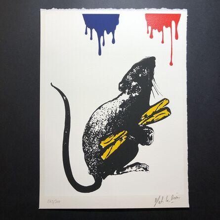 Blek le Rat, 'Rat No. 5', 2019