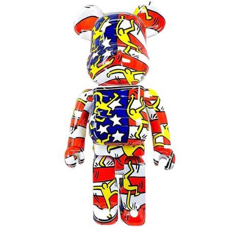 Keith Haring, 'US FLAG 1000% Be@rbrick', 2020