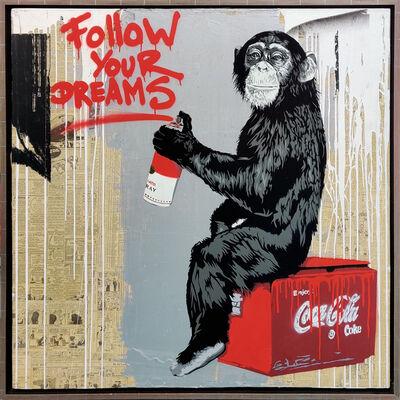 Mr. Brainwash, 'FOLLOW YOUR DREAMS', 2013
