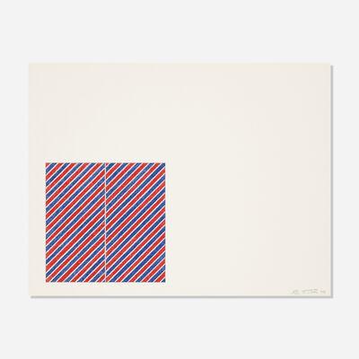 Frank Stella, 'Tetuan III (from the For Meyer Schapiro portfolio)', 1973