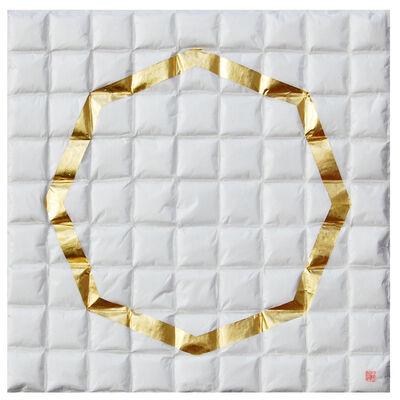 Lore Bert, 'Octagon in Gold', 2014