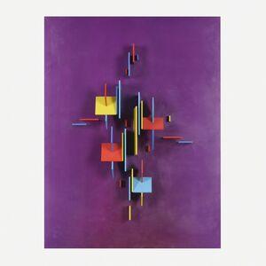 Charles Biederman, 'Red Wing #28', 1968-69