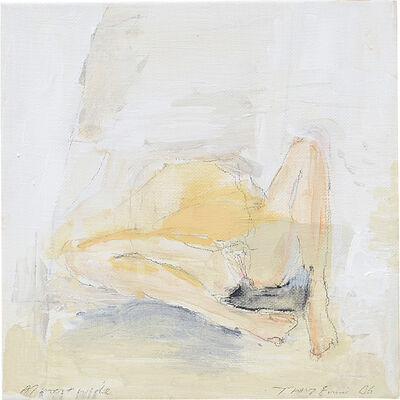 Tracey Emin, 'Almost Wide', 2006