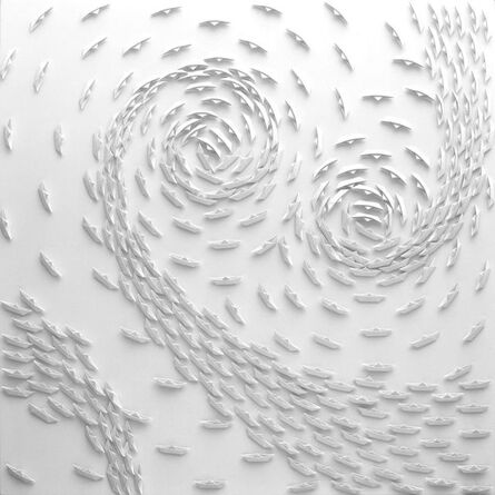 Riccardo Gusmaroli, 'Vortice Bianco', 2018