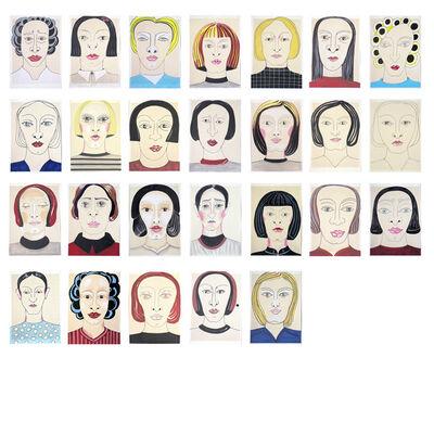 Eva Lootz, 'Incansables (el rostro es una política)', 2013