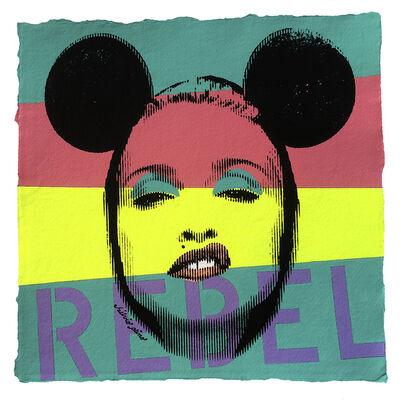 Silvio Alino, 'Pop Icon No. 96 - Rebel', 2015